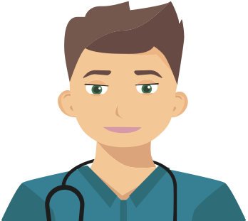 Doctor illustration | Visiba Care