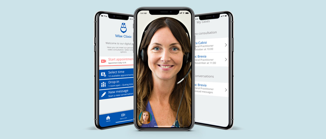virtual clinic patient app white label visiba care
