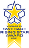 Swecare rising star award 2021 winner Visiba Care